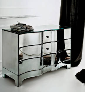 AV-06011 Mirrored Chest of Drawers