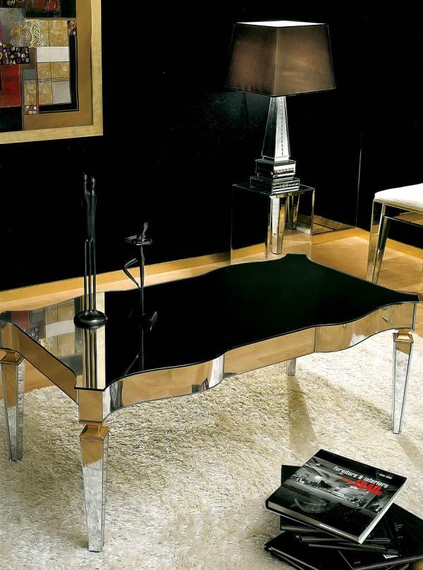 AV-2180 Mirrored Coffee Table