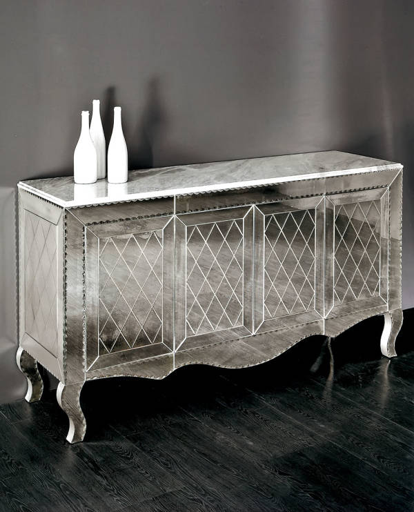 AV-2370 Mirrored Sideboard
