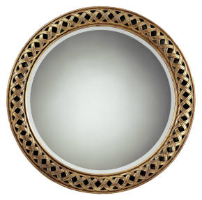 RG-797 Neoclassical Round Mirror