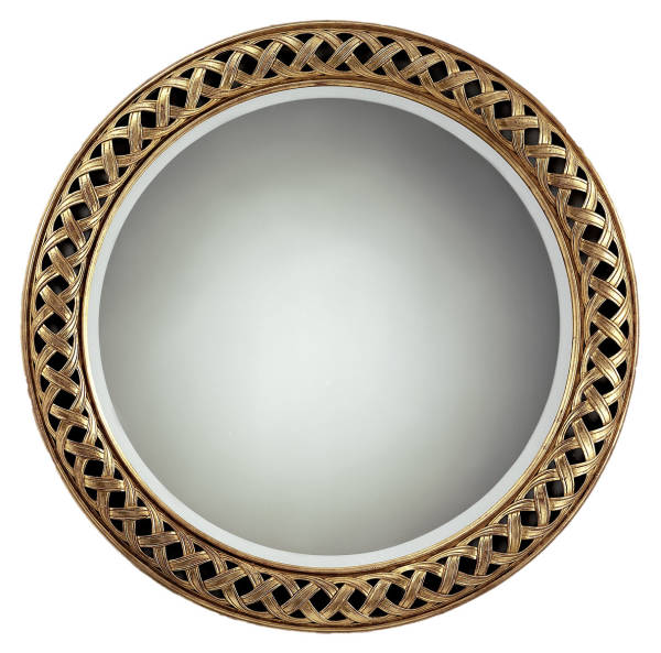 RG-797 Neoclassical Round Mirror