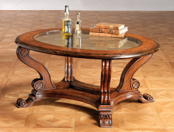 GV-814 Oval Coffee Table