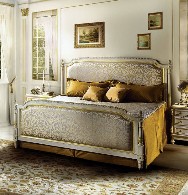 AC-11020-21 Upholstered King Size Bed