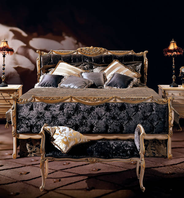AC-12300-21 King Size Upholstered Bed