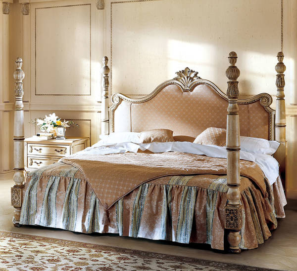 AC-9630-21 King Size Bed, Upholstered
