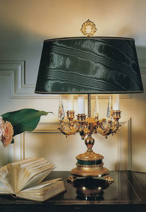 LD-AMORE Bronze Table Lamp