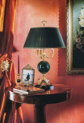 LD-ATENA Bronze Table Lamp