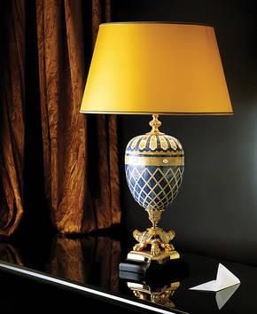 LD-M-HOTTONIA Mosaic Table Lamp