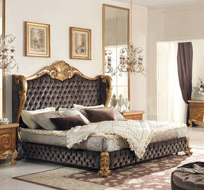 CAP-830 Tufted King Size Bed