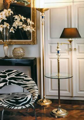LD-STELO DAFNE-SA Bronze Floor Lamp