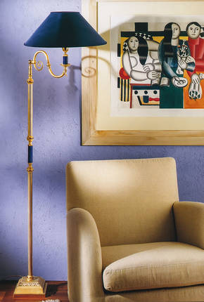 LD-STELO MINERVA Bronze Floor Lamp