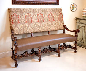 GM-773 Antique Italian Bench