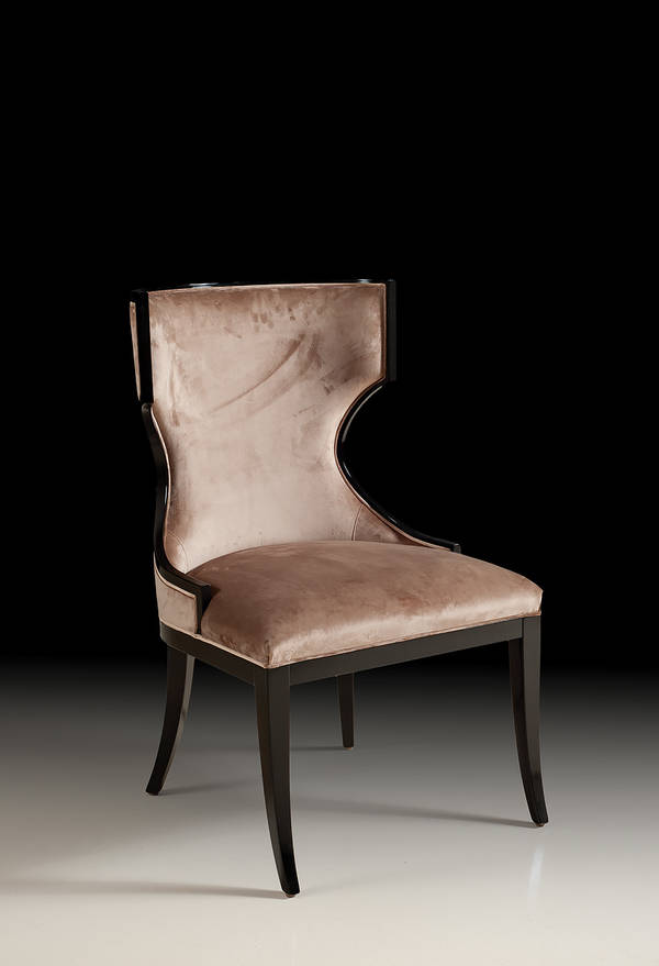 SS-0735-S Barrel Back Side Chair