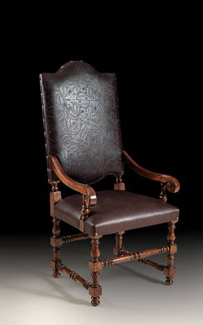 GV-94-AL Leather Arm Chair
