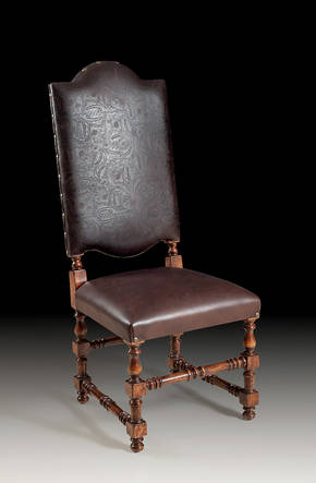 GV-94-CL Leather Side Chair