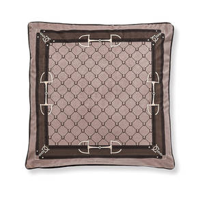 AB-1701-028-CML Equestrian Themed Pillow