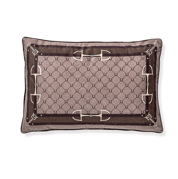 AB-1701-031-CML Equestrian Themed Pillow