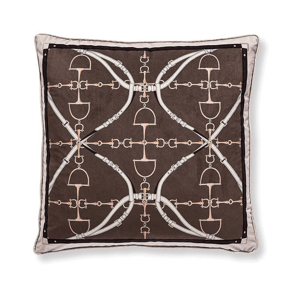 AB-1701-040-TPE Equestrian Themed Pillow
