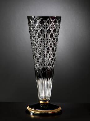 M-A149 Black Crystal Vase