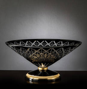 M-A152 Black Crystal Centerpiece