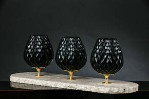 M-A156 Black Crystal Centerpiece