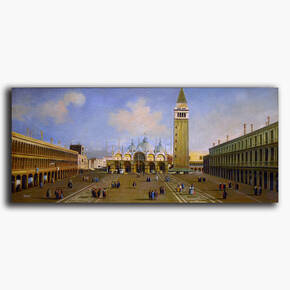 AN-12-61 Original oil painting - San Marco Square