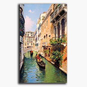 AN-28-127 Original oil painting - Venice