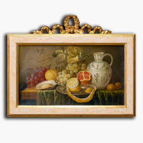 AN-7-88 Original oil painting with frame - Still life