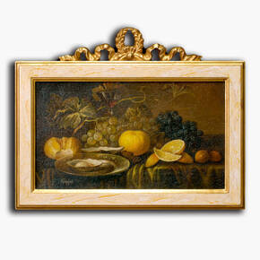 AN-7-92 Original oil painting with frame - Still life
