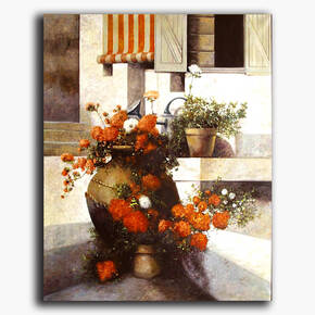 AN-9-4 Original oil painting - Still life