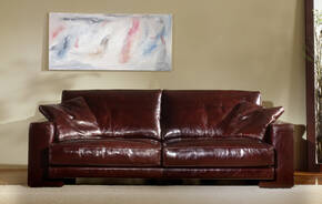 OR-236-3S Transitional Leather Sofa