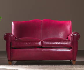 OR-241-2S Transitional Leather Love Seat