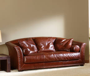 OR-242-3S Contemporary Leather Sofa