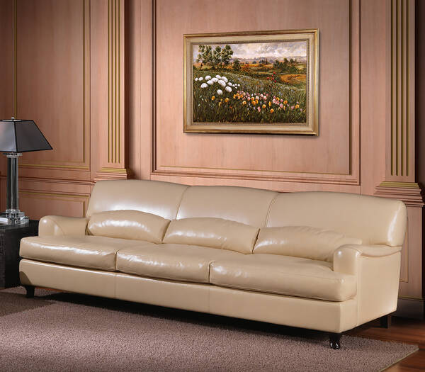OR-246-3S Transitional Leather Sofa