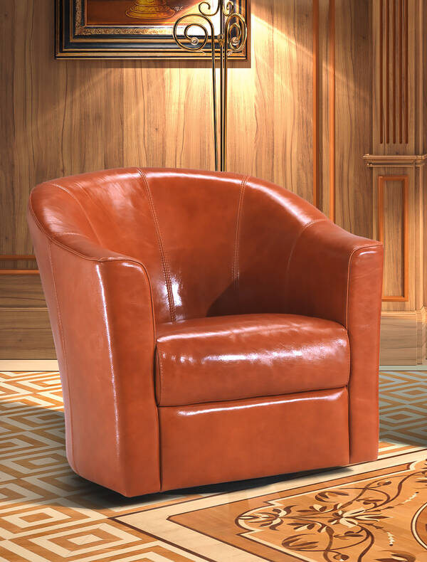 OR-250-A Contemporary Leather Armchair