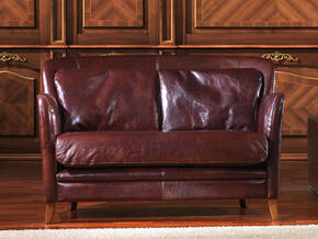 OR-235-2S Contemporary Leather Love Seat