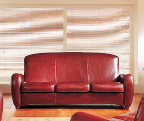 OR-243-3S Transitional Leather Sofa