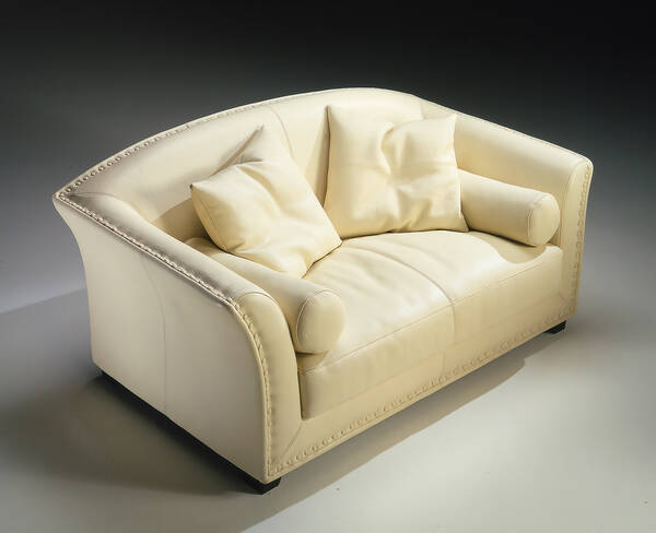 OR-242-2S Contemporary Love Seat