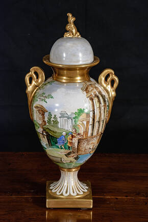 BT-1309-2-DC Ceramic Urn