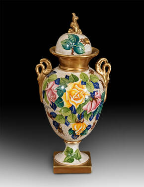 BT-1309-2-RC Ceramic Urn