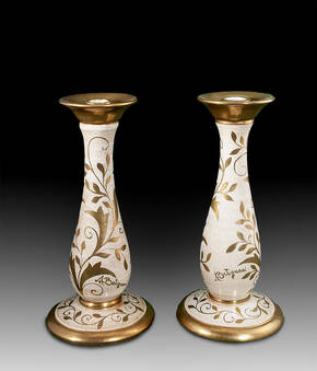 BT-5009-441 Ceramic Candlestick