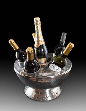 CDP-26 Pewter Wine Cooler