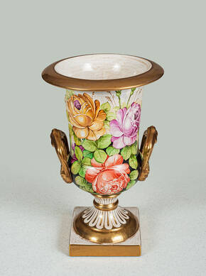 BT-1315-RC Porcelain Vase