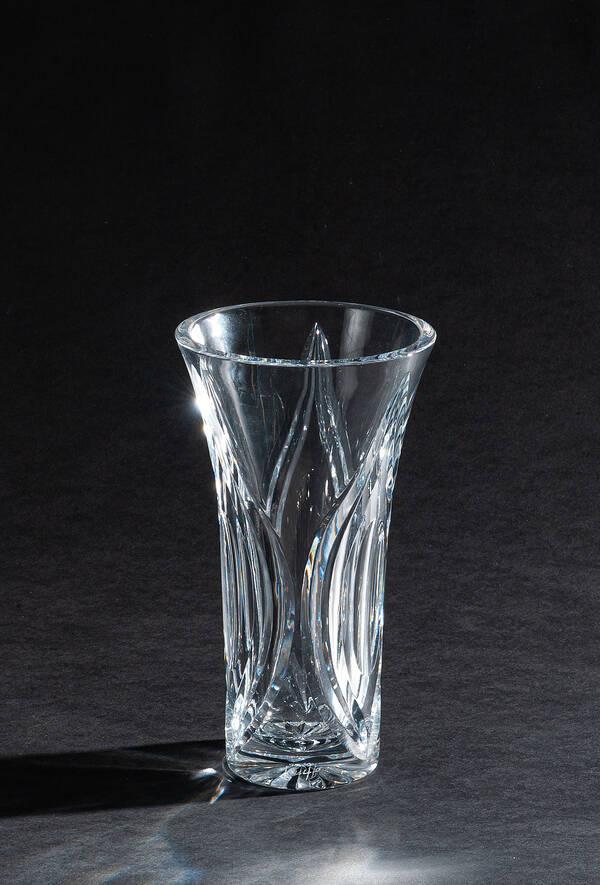 CDM-715-300 Clear Crystal Vase
