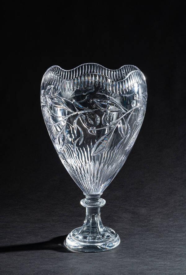 CEV-060021TR Clear Crystal Vase