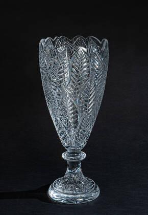 CEV-070012TR Clear Crystal Vase