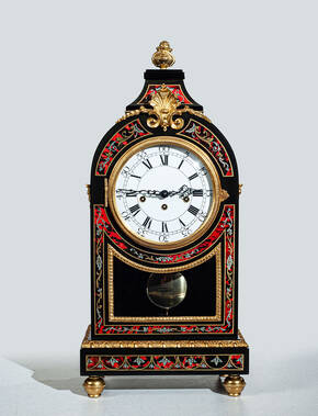 PC-264-S Pendulum Mantel Clock