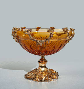 V-1316 Amber Compote