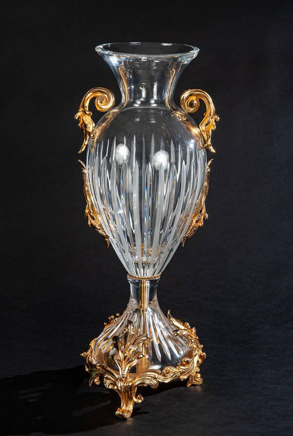 V-1338 Clear Crystal Vase