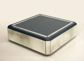 AV-ST10 Mirrored Coffee Table